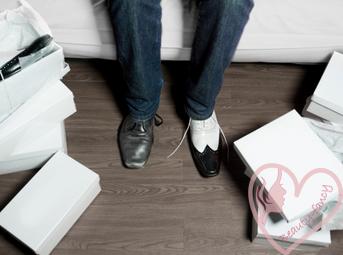 как можно разносить новую обувь