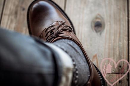 мужские туфли - как разносить