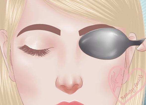 как убрать опухшие глаза утром - классный совет