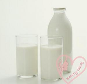 пища для здоровых волос - молочные продукты