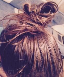 Пучок из волос с кокосовым маслом Parachute