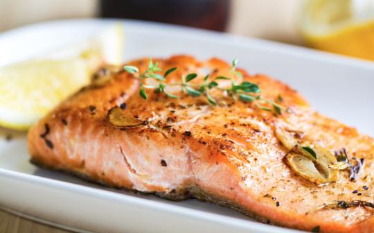 Как питаться после тренировки: лосось