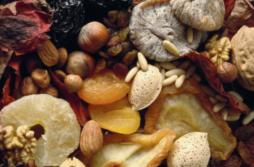 Как питаться после тренировки: смесь сухофруктов и орехов