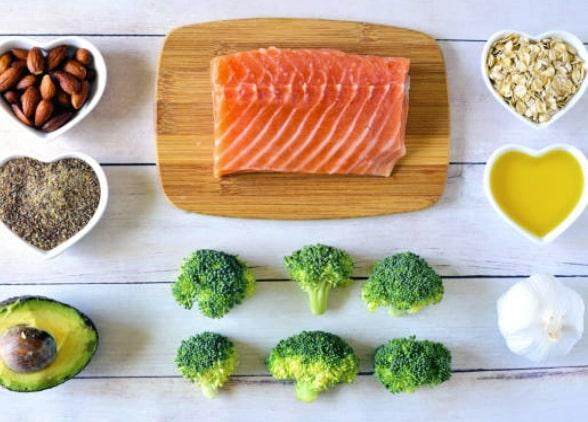 лосось - питаться после тренировки