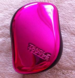 Расческа для волос tangle teezer розовый металлик