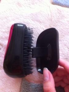 Расческа для волос tangle teezer: вид сбоку без крышки
