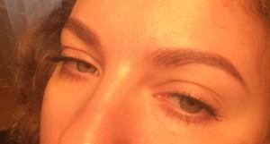 Глаза с универсальной тушью Clinique High Impact