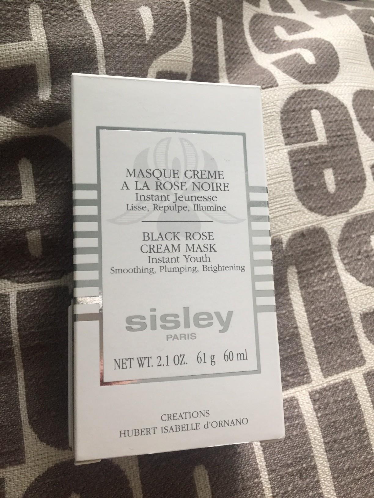 Кремовая маска Sisley Black Rose