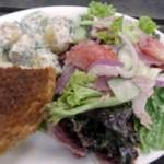 Ресторанный салат