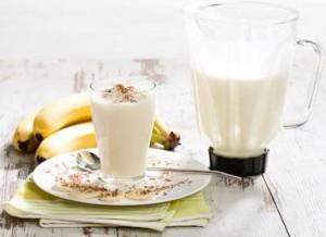 Сочетание банан и молоко