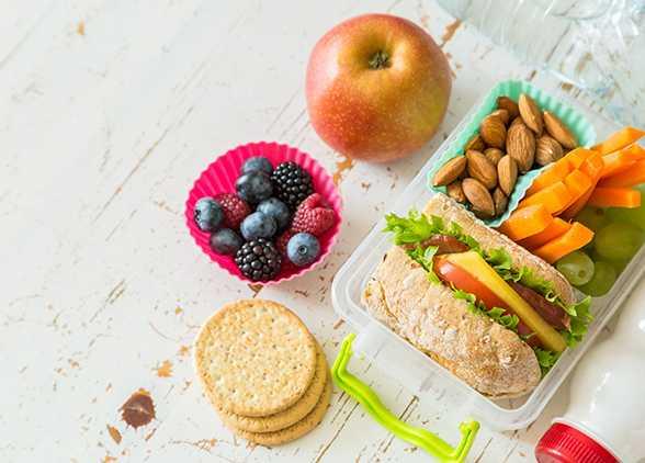 Правильные здоровые перекусы