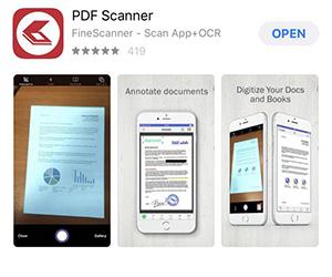 Приложение FineScanner