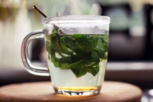 чай мелисса на ночь перед сном